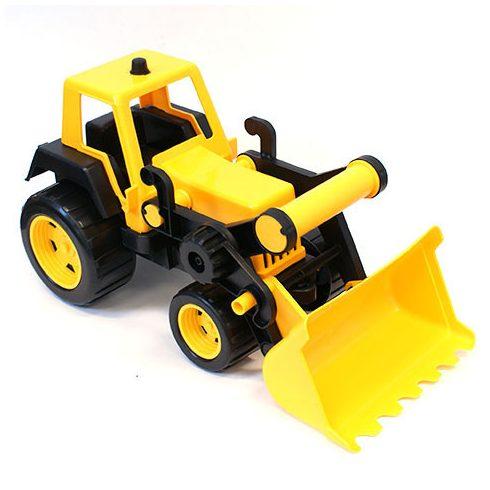Traktor homlokrakodóval 48cm