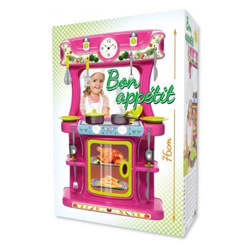 Eperke játékkonyha 21 részes - Rózsaszín